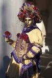 Venetian carnival-2013 Stock Photo