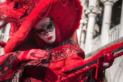 Venetian carnival-2013 Royalty Free Stock Photo