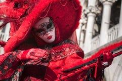 Venetian carnival-2013 Royalty Free Stock Photo