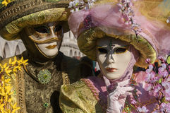 Venetian carnival-2013 Royalty Free Stock Photography