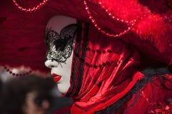 Venetian carnival-2013 Stock Photos