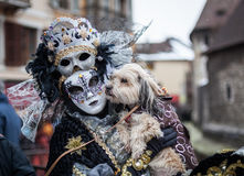 Venetian Carnival, Annecy, France Stock Photo