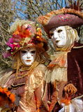 Venetian carnival at Annecy, France Royalty Free Stock Photography