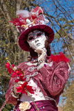 Venetian carnival at Annecy, France Stock Photo