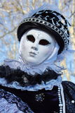 Venetian carnival at Annecy, France Royalty Free Stock Image