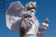 Venetian carnival at Annecy, France Stock Photography