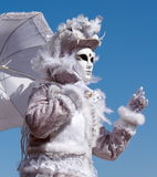 Venetian carnival at Annecy, France Stock Image