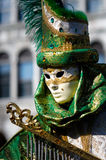 Venetian carnival costume Royalty Free Stock Photos