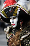 Venetian carnival costume Stock Images