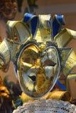 Venetian carnival mask. Joker - full face venetian mask with bells stock photos