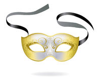 Venetian Carnival mask. Vector illustration Stock Images