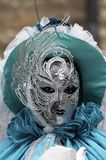 Venetian Carnival Mask Stock Photo