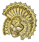 Venetian carnival mask. Stock Images