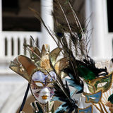 Venetian carnival mask. Carnival mask in Venice sells in San Marco square stock photography