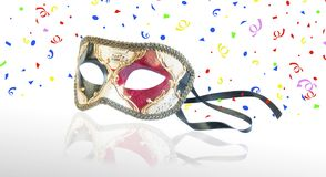 Venetian carnival mask. Royalty Free Stock Images