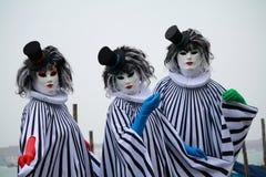 Venetian carnival mask. Carnival masks in Venice, San Marco's square Stock Photos