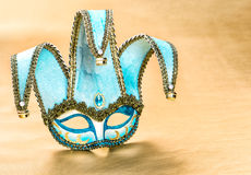 Venetian carnival mask harlequin. Festive decoration Stock Photography
