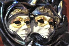 Venetian Carnival Mask - Maschera di Carnevale - Venice Italy - Creative Commons by gnuckx Royalty Free Stock Photography