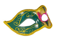 Venetian Carnival Mask   patterned asymmetrical frontal picture Stock Photography