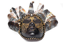 Venetian carnival mask theater isolated on white background Stock Image