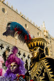 Venetian carnival mask Royalty Free Stock Photo