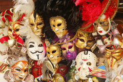 Venetian carnival masks Royalty Free Stock Images