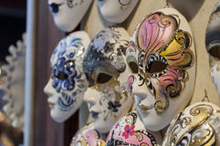 Venetian carnival masks. Stock Photos