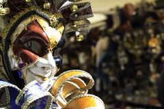 Venetian carnival masks Stock Images