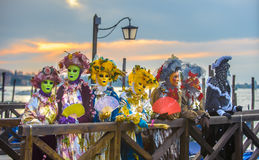 Venetian carnival masks Stock Photo