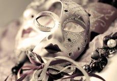 Venetian carnival masks Stock Photos