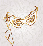 Venetian carnival or theater mask Royalty Free Stock Photos