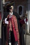 Venetian Carnivale Costume Royalty Free Stock Photo