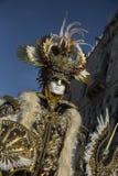 Venetian Carnivale Costume Stock Photo