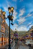 The Venetian Casino hotel  Macao Stock Images