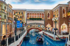 The Venetian Casino hotel  Macao Royalty Free Stock Photos