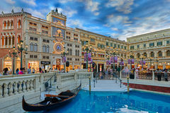 The Venetian Casino hotel  Macao Stock Photo