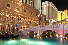 Venetian Casino in Las Vegas Royalty Free Stock Photography
