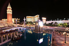 Venetian Casino in Las Vegas  Royalty Free Stock Photos