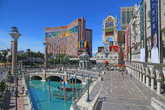 Venetian Casino in Las Vegas Royalty Free Stock Photo