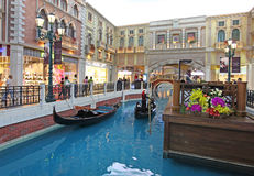 Venetian casino in Macau Stock Photo