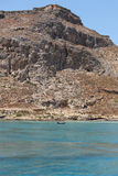 Venetian castle at Imeri Gramvousa Bay. Crete. Greece Royalty Free Stock Images