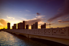 Venetian Causeway Stock Photos