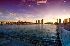 Venetian Causeway Stock Images
