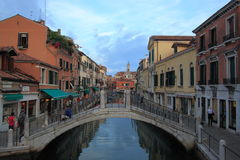 Venetian channel Stock Photo