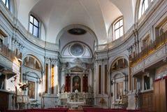 Venice church associated with Vivaldi, Santa Maria della Pieta stock photography