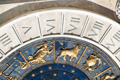 Venetian clock Stock Images