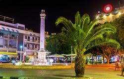 Venetian Column on Ataturk Square in Nicosia Royalty Free Stock Photo