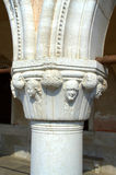 Venetian column Royalty Free Stock Photo