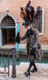 Venetian Costume Стоковое Изображение