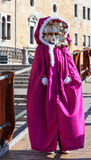 Venetian Costume Royalty Free Stock Images